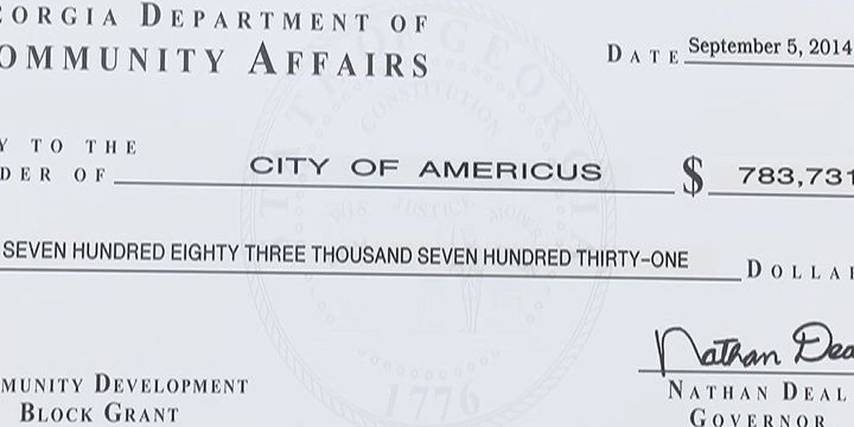 Americus image gets a boost with community grants