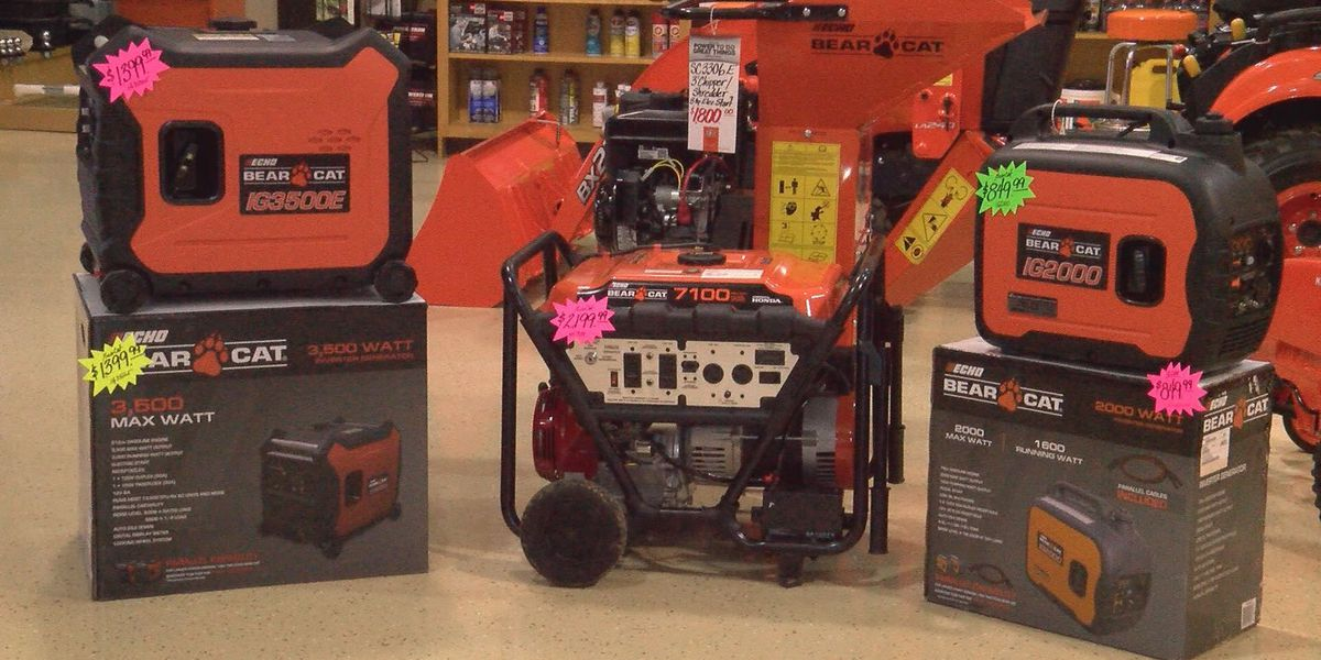 Albany stores stock up on power generators