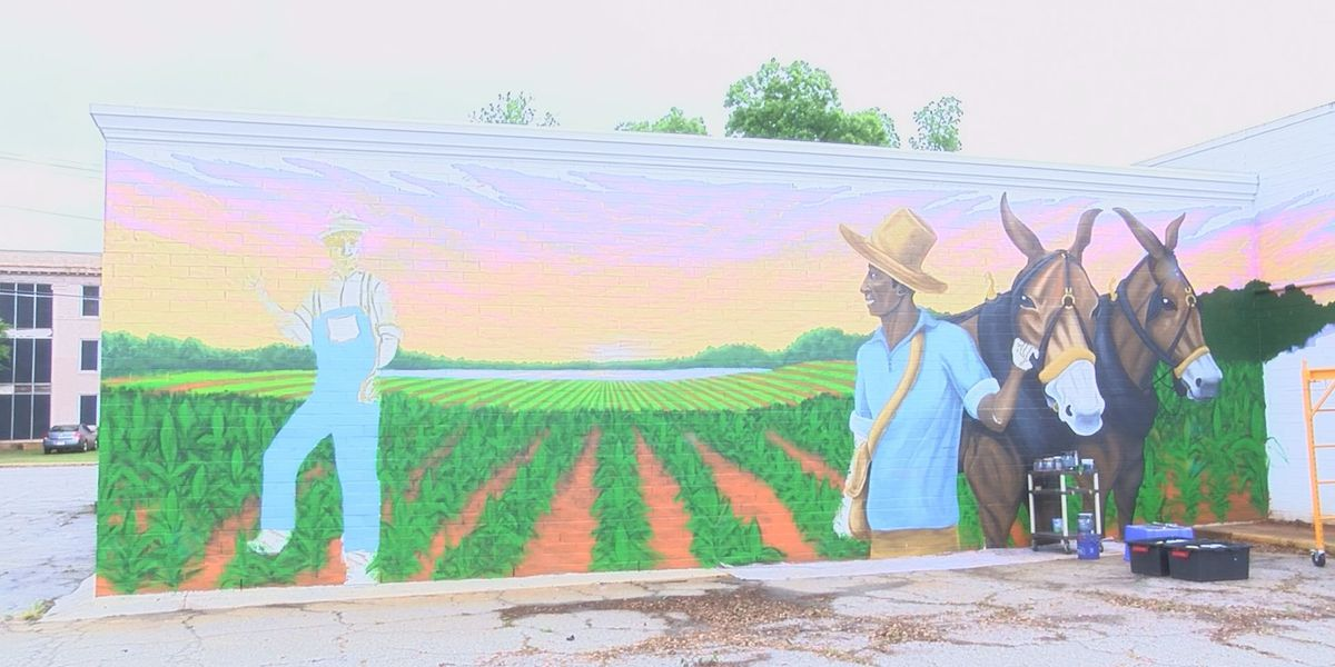 New agriculture mural in downtown Albany meant to inspire unity