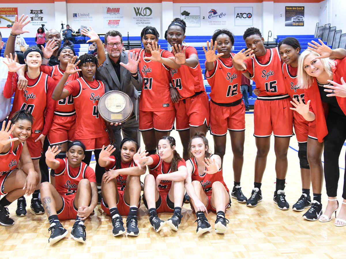 Lady Jets win 5th consecutive NJCAA Region 17 Tournament