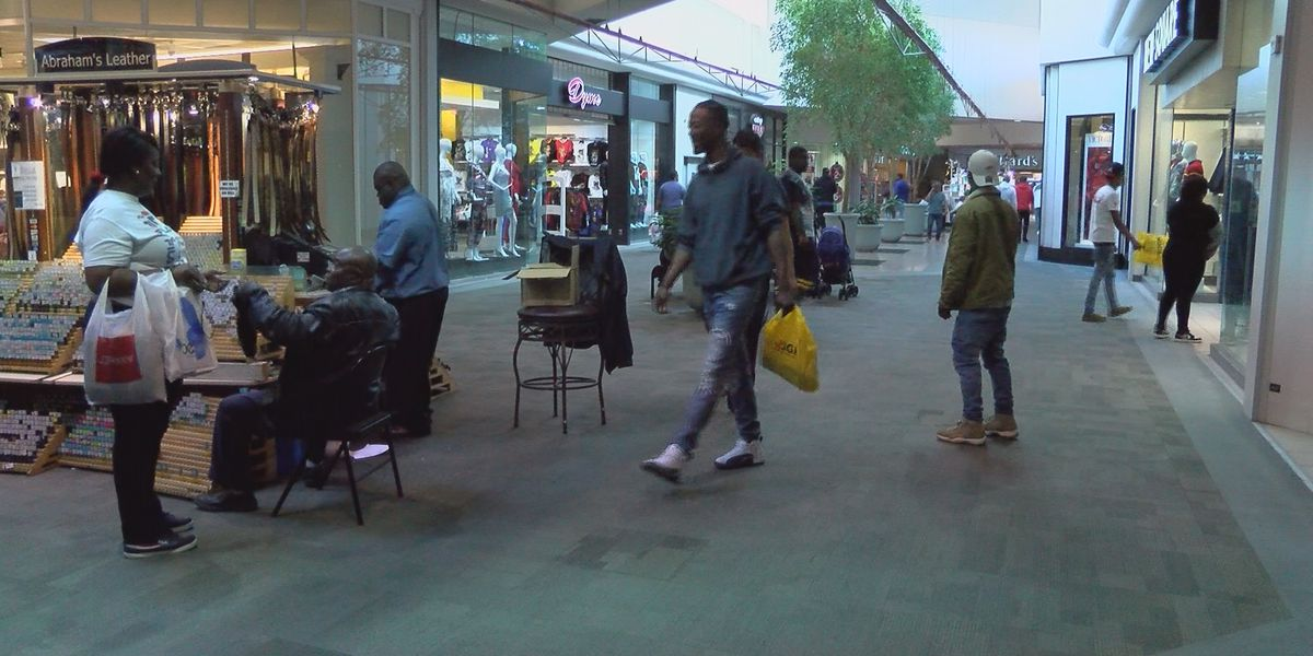 Albany community hit the mall for last-minute Christmas shopping