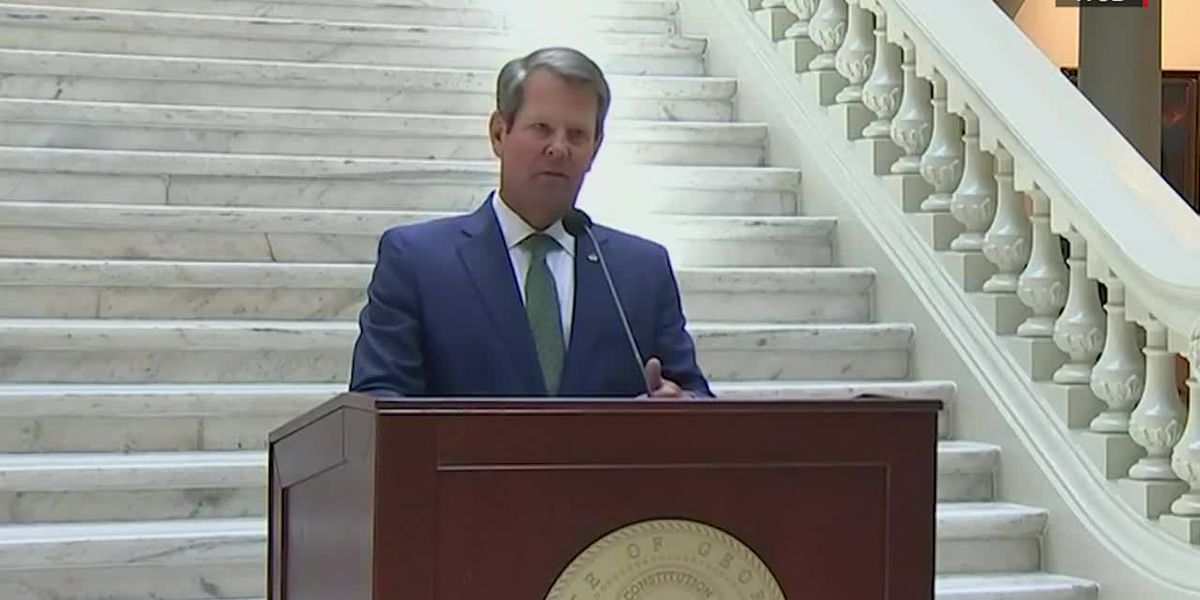 WATCH LIVE: Kemp, other top state officials to hold Wednesday afternoon press conference