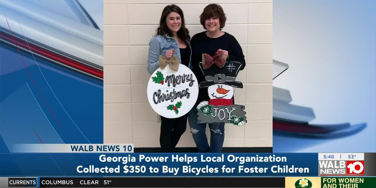 Good News: Georgia Power helps organization buy bicycles for foster children