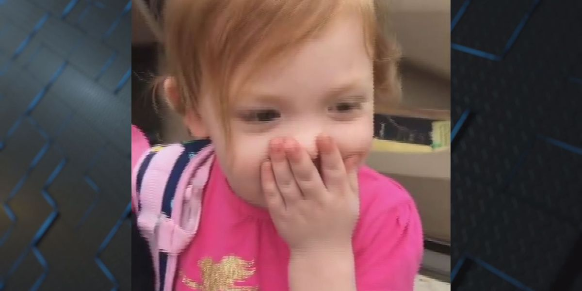 VIDEO: 3-year-old girl celebrates acceptance to pre-K