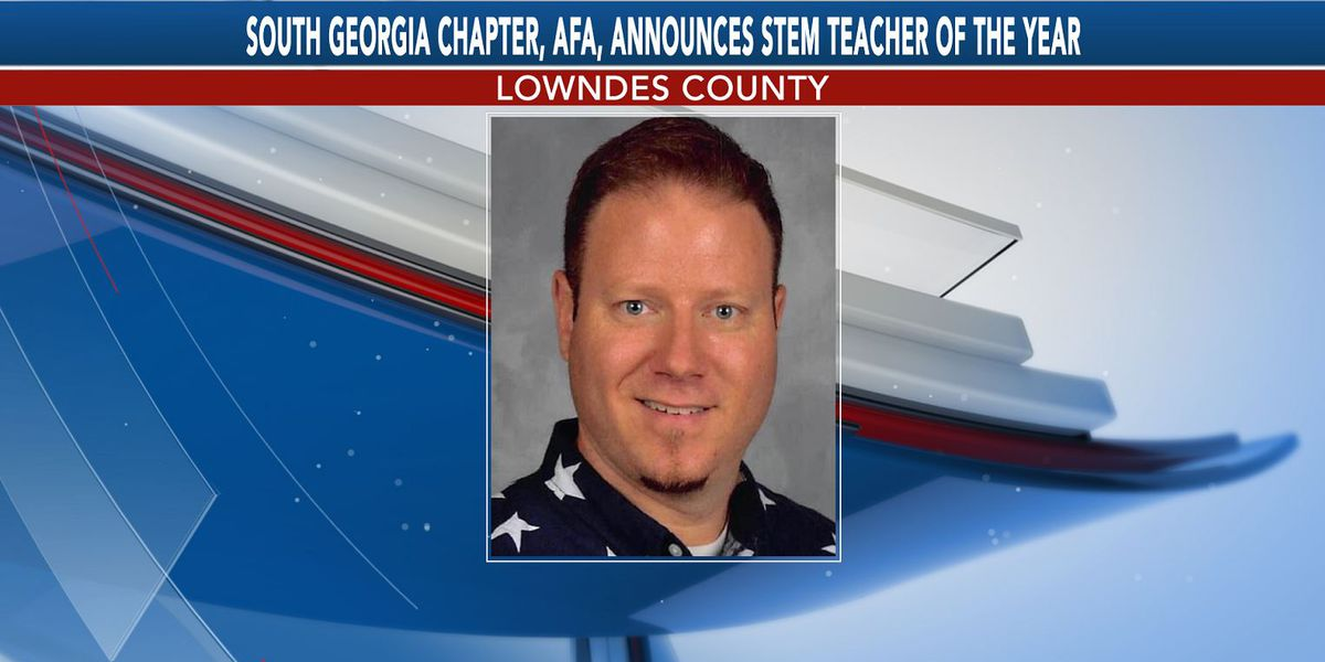 Lowndes High teacher named STEM Teacher of the Year