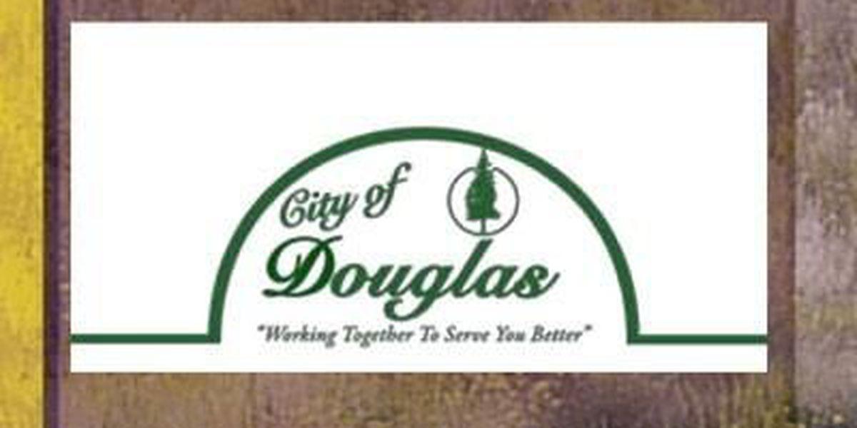 Douglas has a temporary road closure