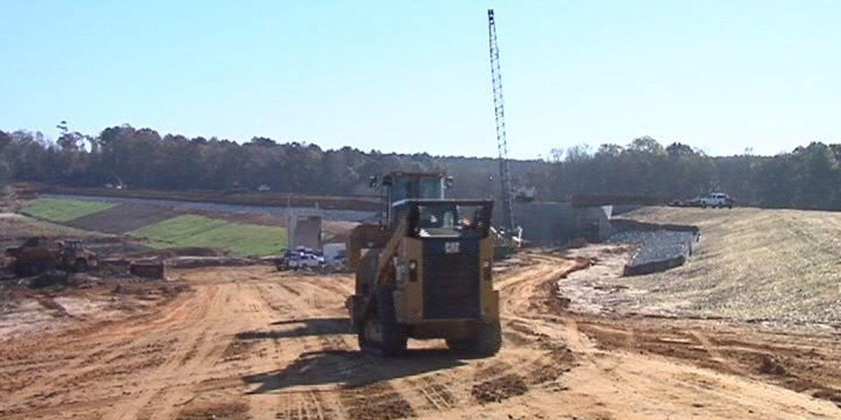 Litigation no longer pending during Tired Creek Lake project