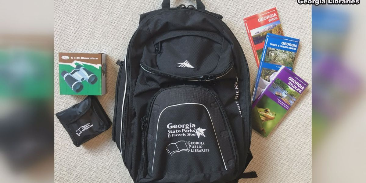 GA public libraries to hand out backpack kits for visiting state parks