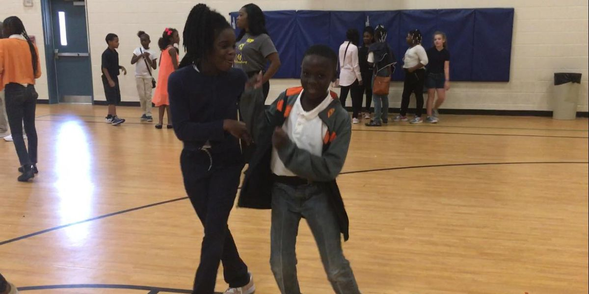 Radium Springs Elementary dances for Harvey