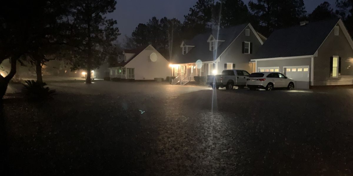 NWS: 15 Crisp Co. homes threatened by rising floodwaters