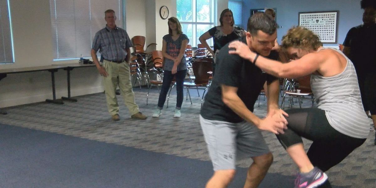 Liberty House holds self-defense classes