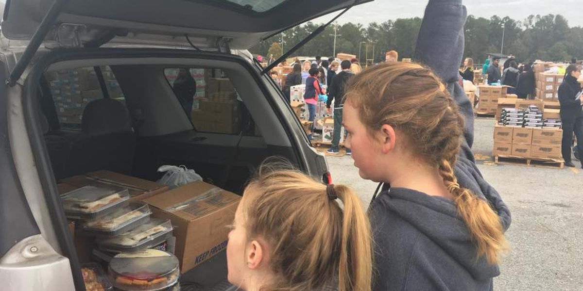 Second Harvest makes Thanksgiving possible for families in need