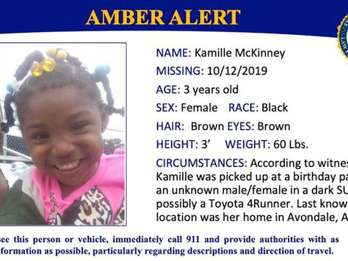 Search for Kamille McKinney expanded to surrounding states