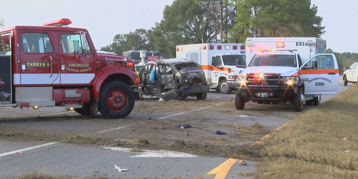 GSP urges caution after recent Thomas Co. car wrecks