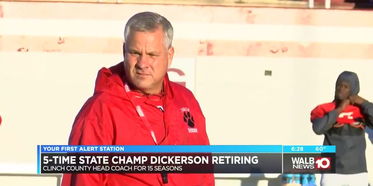Jim Dickerson retiring from Clinch County