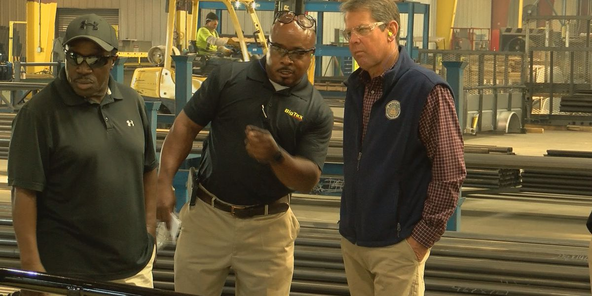 Governor Brian Kemp focused on employment growth in South Georgia