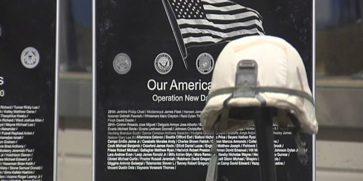 Wall honors lives lost in War on Terror