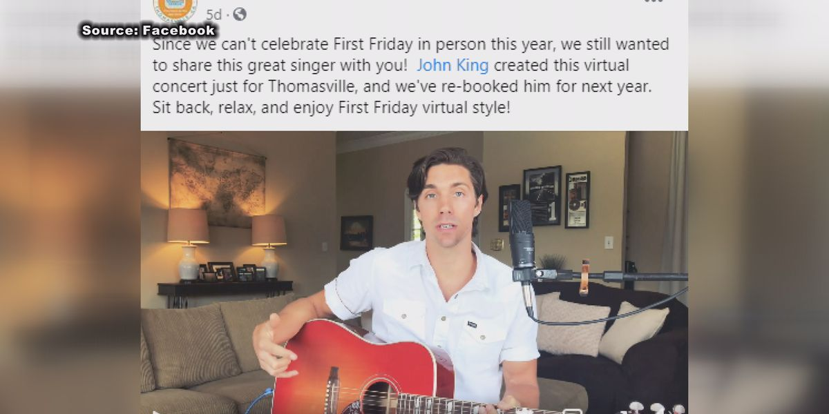 Downtown Thomasville holds virtual First Friday concert experience