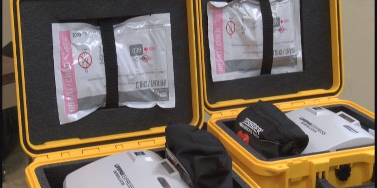 Generous donation to buy new defibrillators