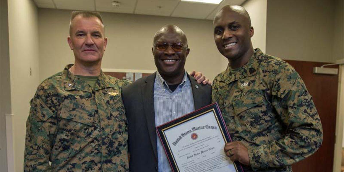Valdosta Marine receives high honors