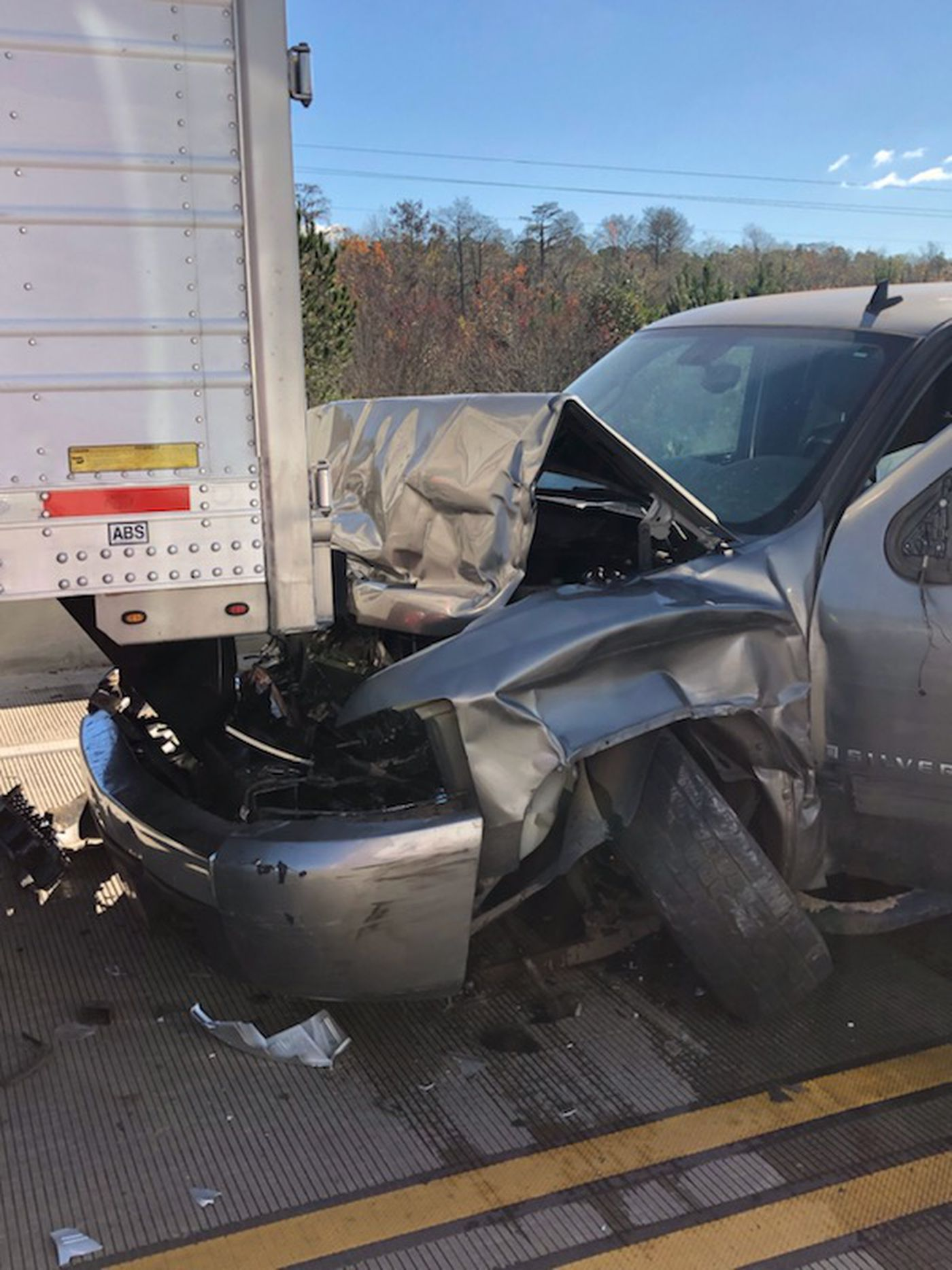 South GA multi-county chase ends in wreck with parked semi-truck