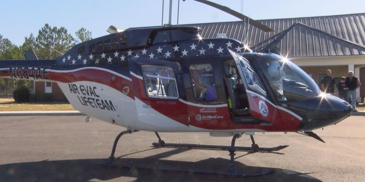 Tift Co. EMA gets new emergency helicopter
