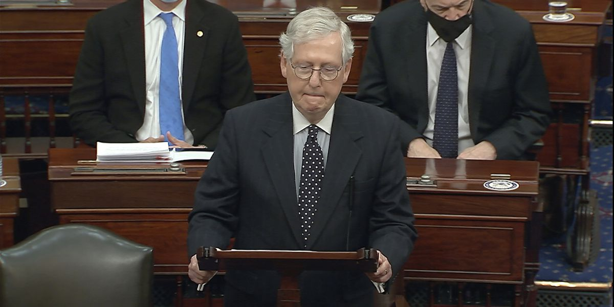 McConnell open to convicting Trump in impeachment trial