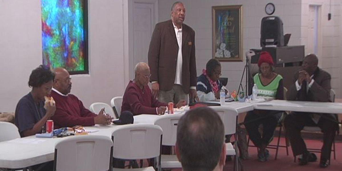 Bishop decries 'black on black crime'