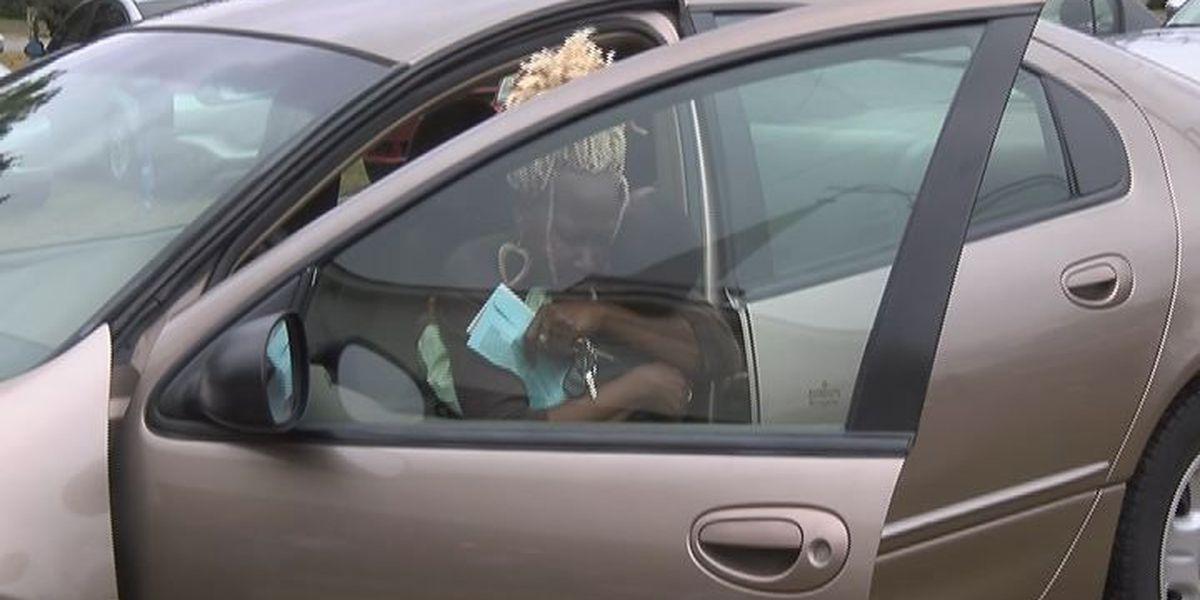 Baconton church gives free car away to member