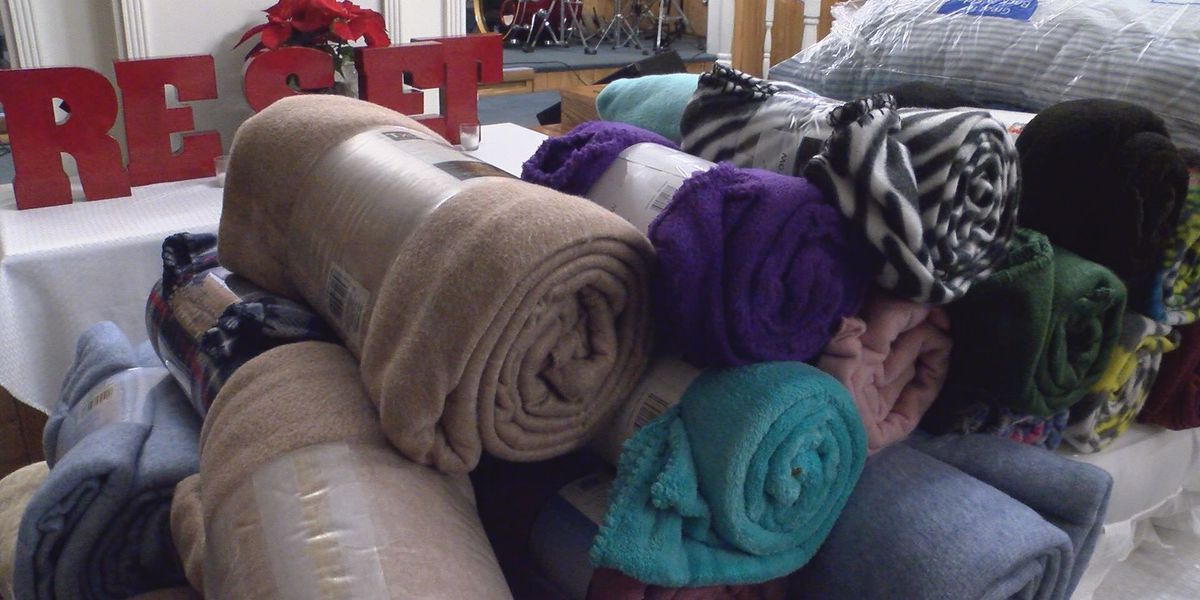 Church collects blankets for storm victims