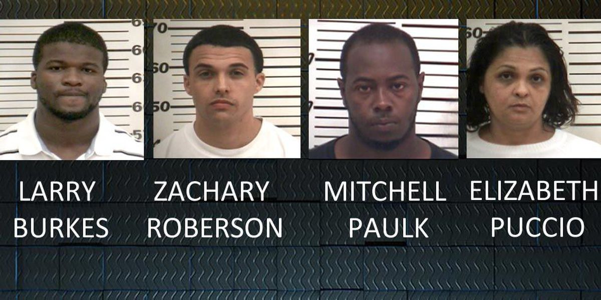 Four arrested in Coffee Co. drug raid