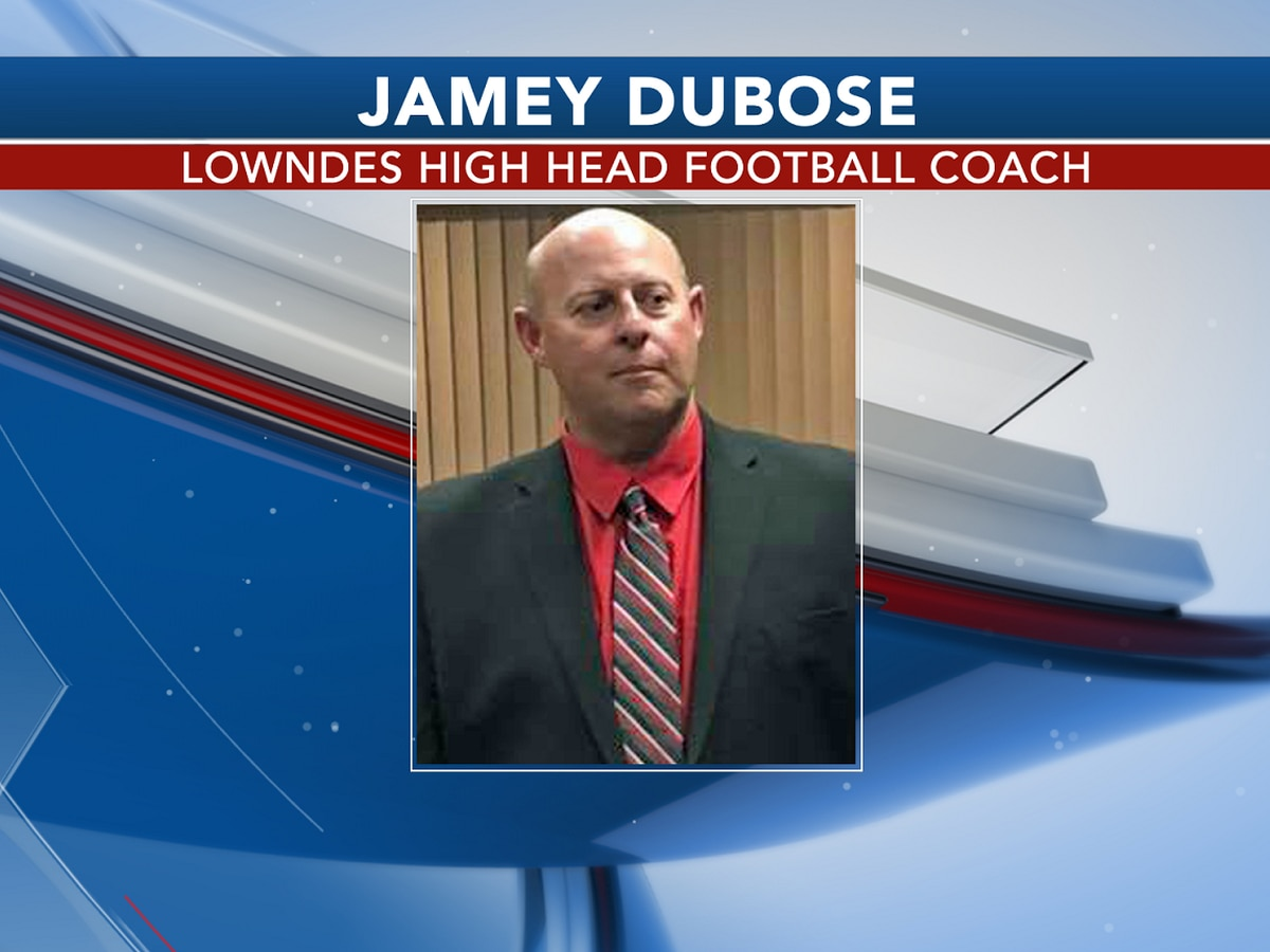 Lowndes High head football coach tests positive for COVID-19