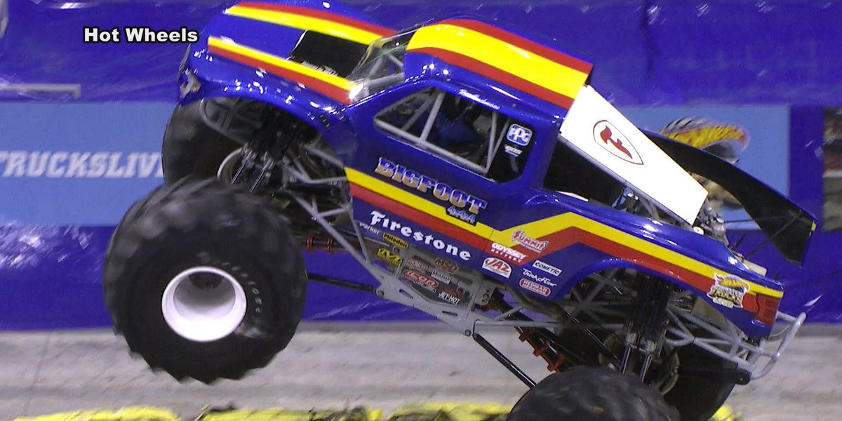 Monster truck show smashing into Albany