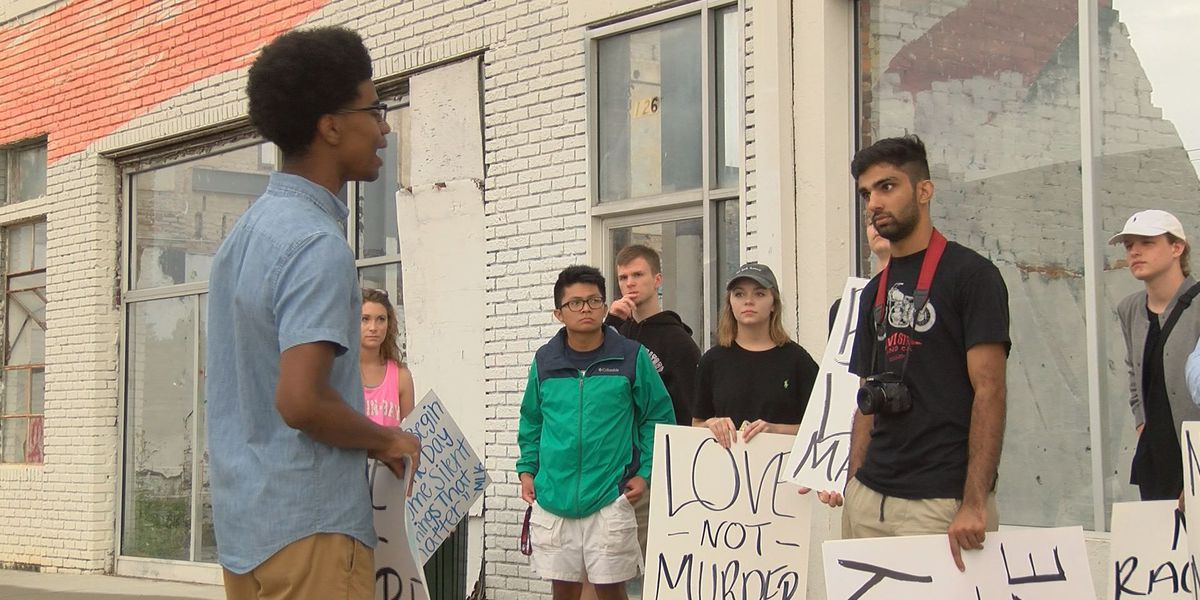Albany community comes together to march for peace