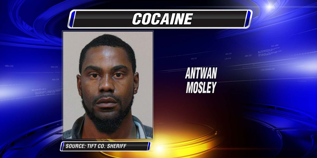 Tifton man charged with trafficking cocaine
