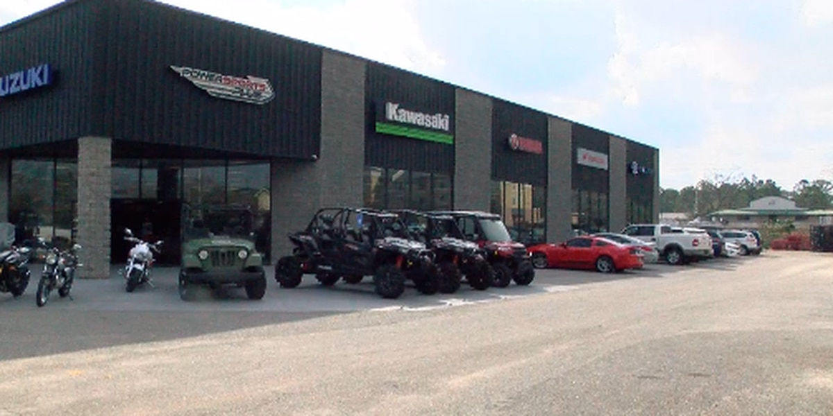 Police search for men caught on camera stealing from PowerSports Plus
