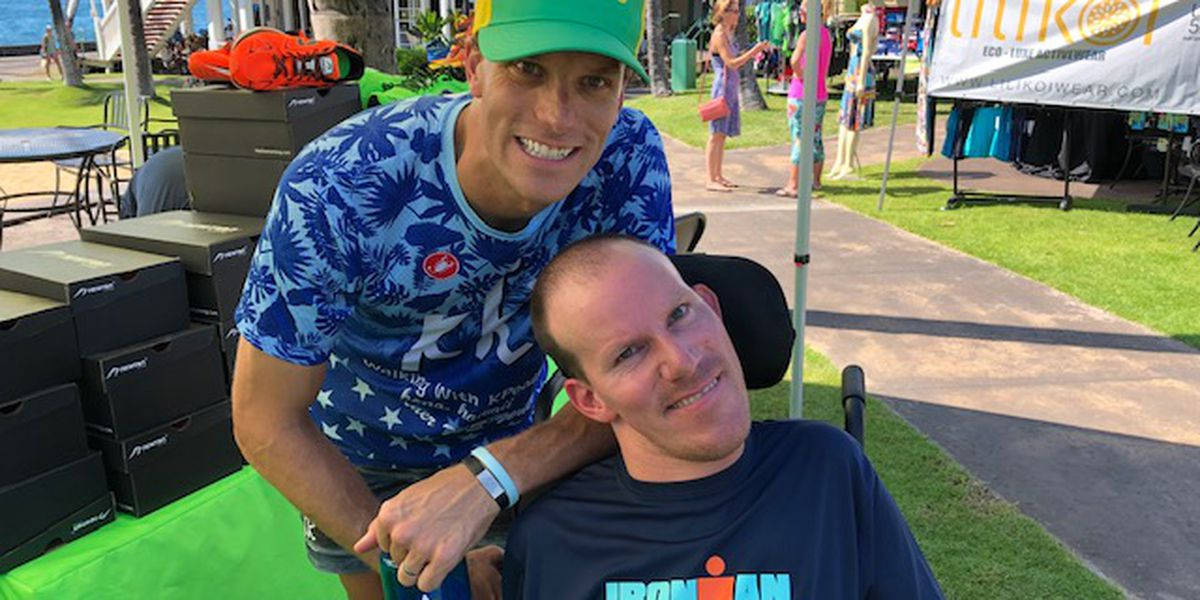 Brothers who made IRONMAN history are now helping others break barriers