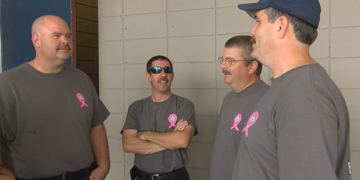 Firefighters raise hundreds for children affected by fires