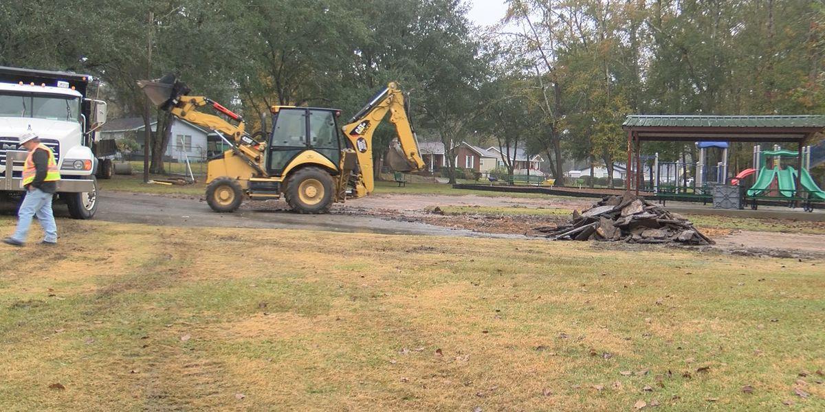 Updates begin for Weston park in Thomasville