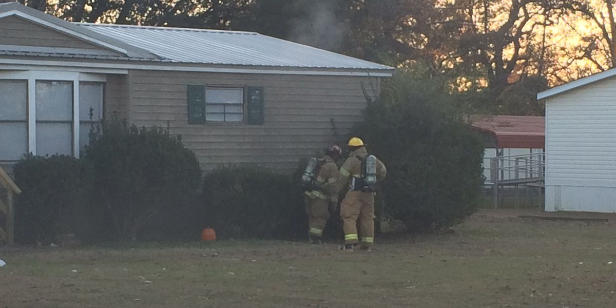 AFD responds to visible smoke at home on War Eagle Avenue