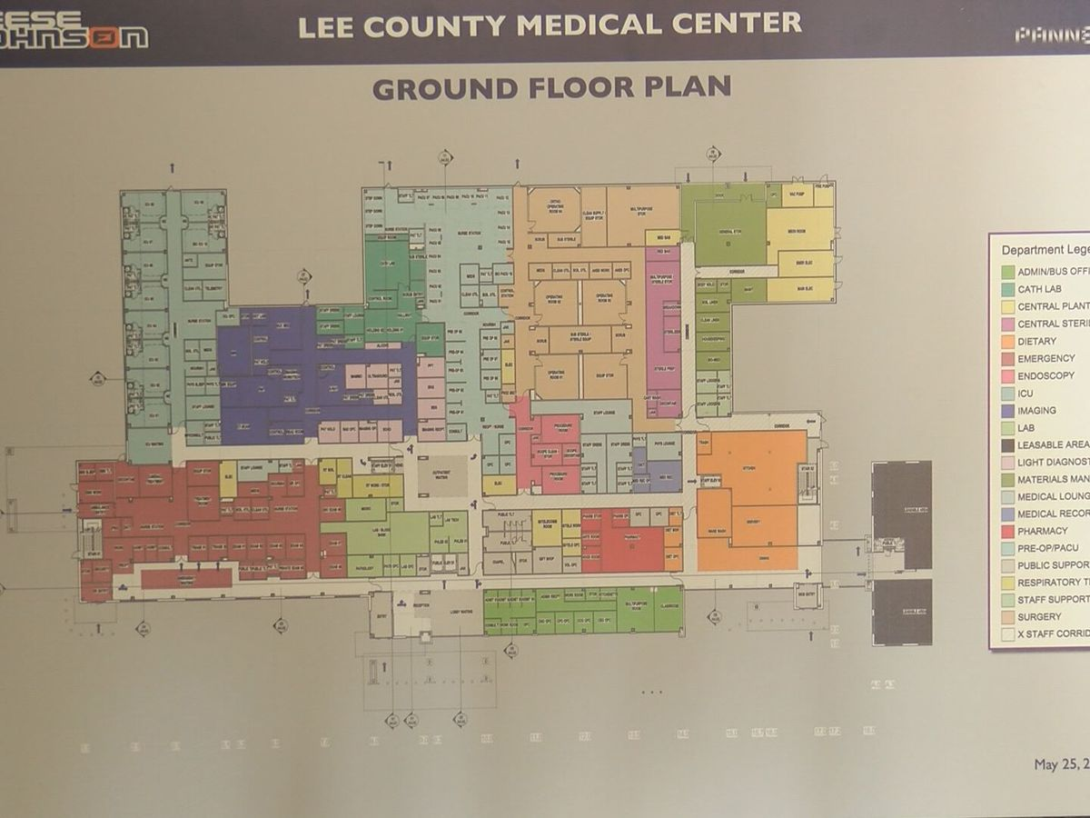Hurricane won't stop Lee Co. Medical Center progress