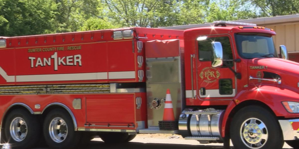 Sumter Co. Fire and Rescue 1 of 6 departments selected for nationwide program