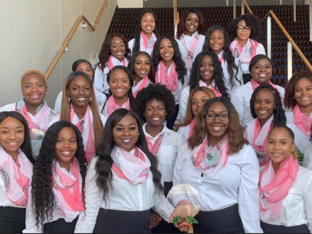 'We have a sister that has crossed all the boundaries': VSU's Alpha Kappa Alpha chapter excited for VP Kamala Harris