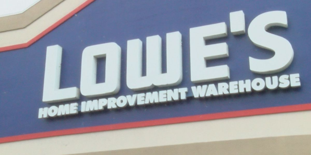 Lowe's sees increase in sales ahead of severe weather