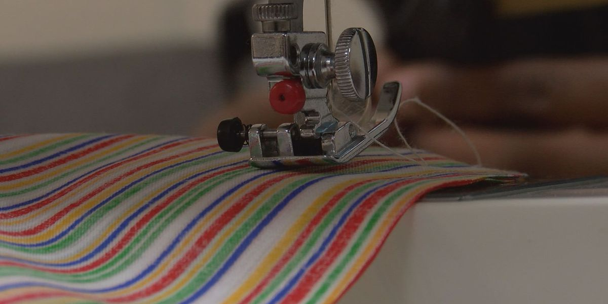 Sewing class helps LAMP residents