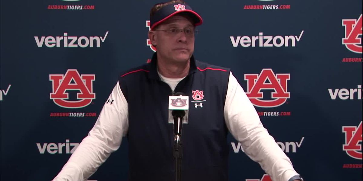 Auburn football coach Gus Malzahn has been fired