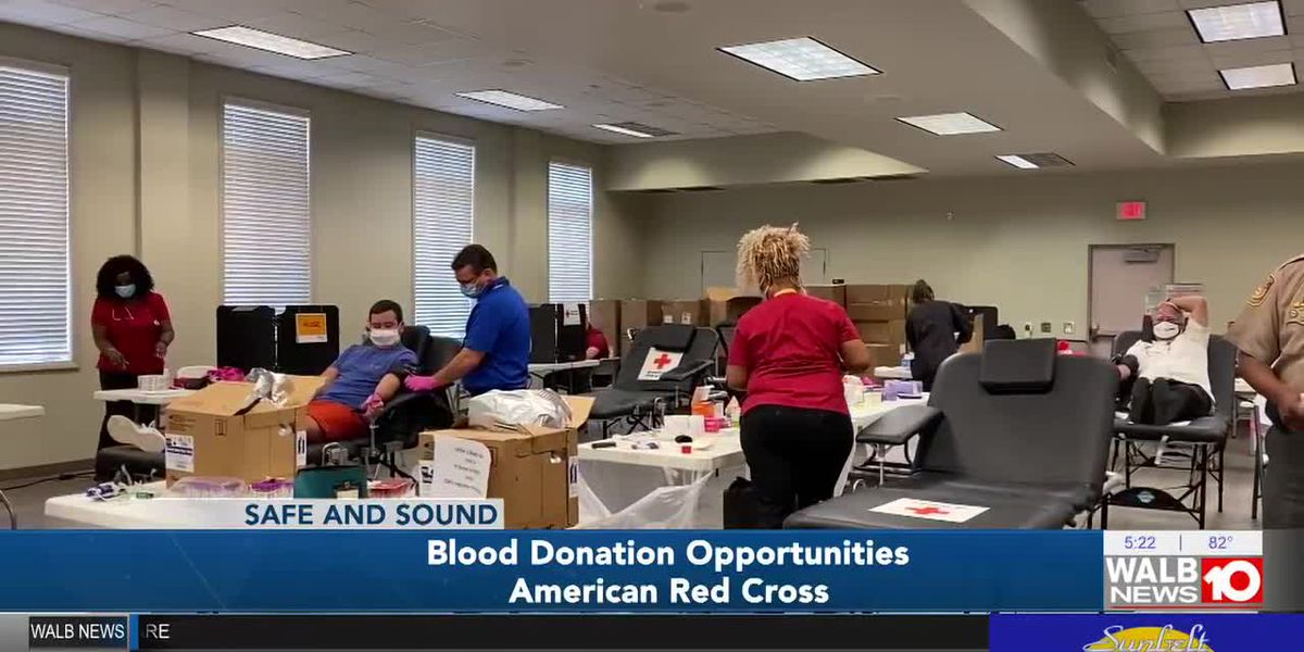 Safe and Sound: Opportunities to donate blood to American Red Cross