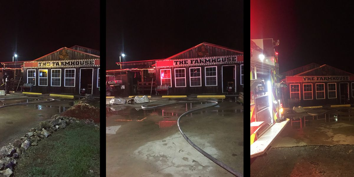 Fire damages Dawson restaurant