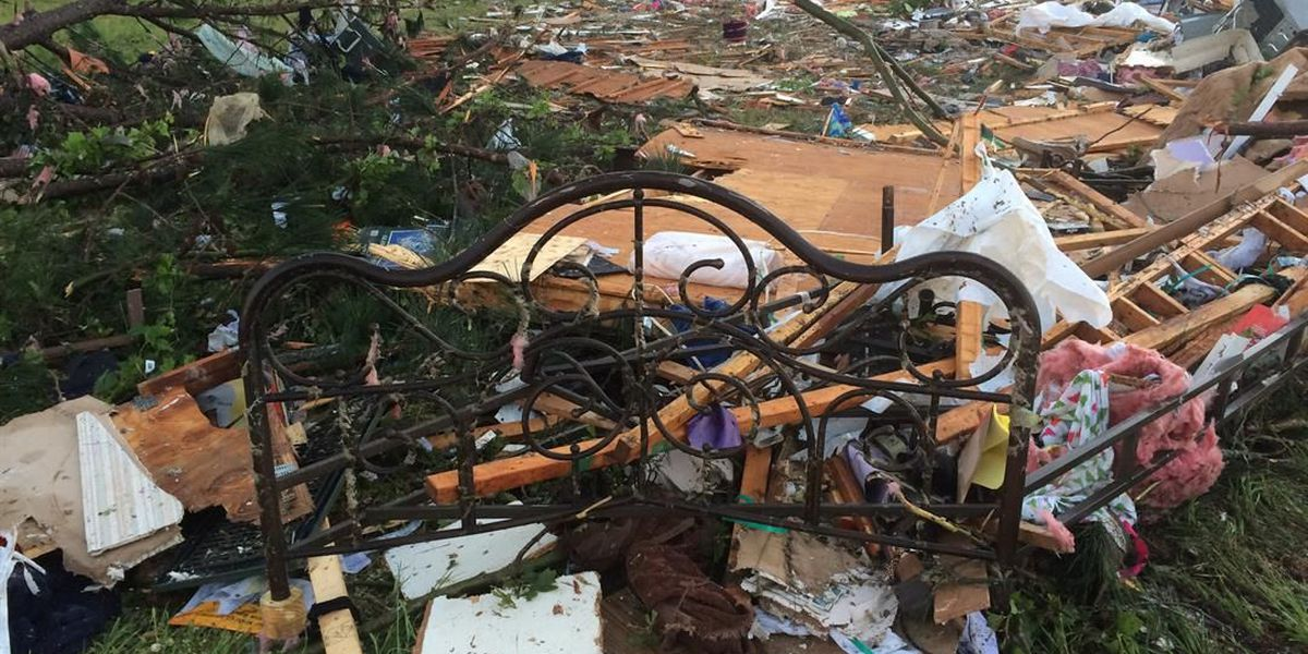 Homes leveled after dangerous overnight storms
