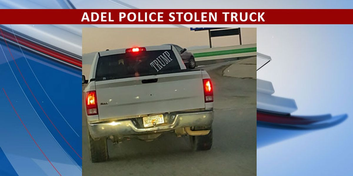 Adel Police issue alert for stolen truck